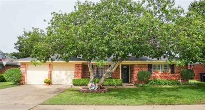 Wichita Falls Single Family Home For Sale: 1538 Southwinds Drive