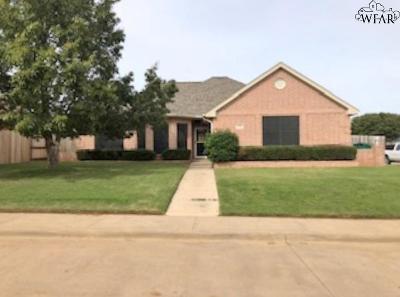 Iowa Park Single Family Home For Sale: 20 Cherokee Trail
