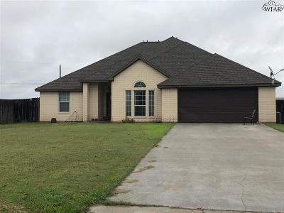 Iowa Park Single Family Home Active W/Option Contract: 1407 N Victoria Avenue