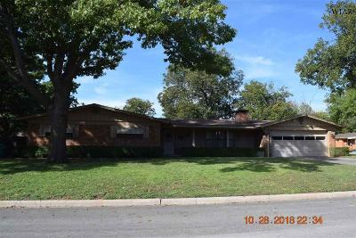 Iowa Park Single Family Home Active W/Option Contract: 1518 Rita Lane