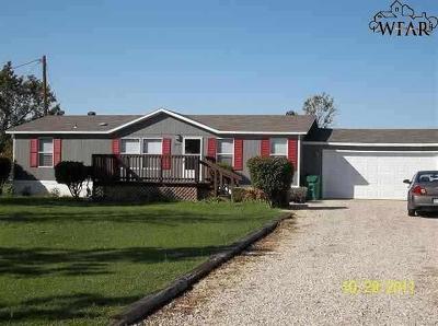 Burkburnett Single Family Home For Sale: 1603 S Fm 369