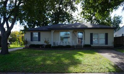 Wichita Falls Single Family Home For Sale: 4344 Featherston Avenue