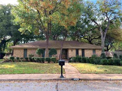 Wichita Falls Single Family Home Active W/Option Contract: 4503 Lisa Lane