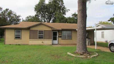Wichita Falls Single Family Home For Sale: 1436 Tanbark Road