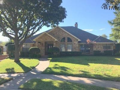 Wichita Falls Single Family Home For Sale: 5 Sand Piper Street
