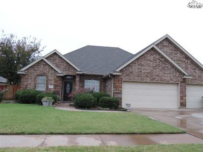 Wichita Falls Single Family Home For Sale: 1722 Rockridge Drive