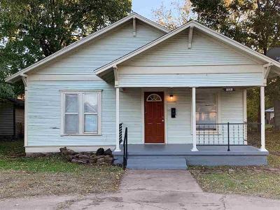 Wichita Falls Single Family Home For Sale: 1619 Collins Avenue