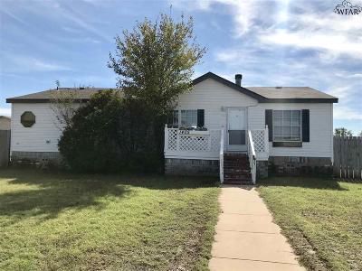 Wichita Falls Single Family Home For Sale: 1405 Amber Joy Drive