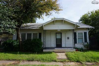 Wichita County Rental For Rent: 2105 Bell Street