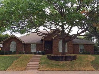 Wichita County Single Family Home For Sale: 1507 Brazos Street