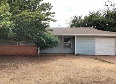 Wichita Falls Single Family Home For Sale: 1518 Grayfox Place