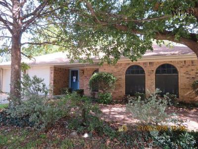 Wichita Falls Single Family Home For Sale: 4607 Misty Valley Street West