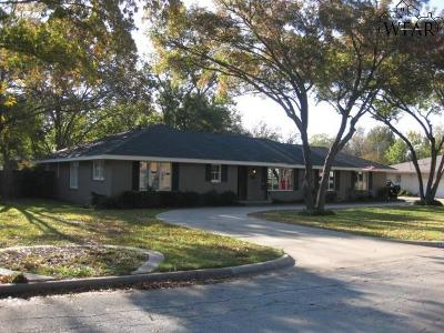 Wichita Falls Single Family Home For Sale: 4405 Cedar Elm Lane
