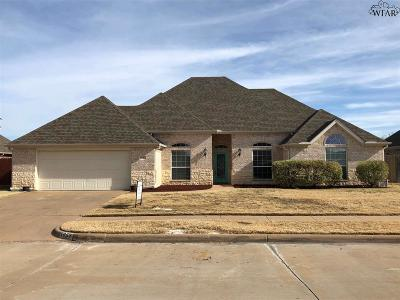 Wichita Falls Single Family Home For Sale: 5053 Eastridge Drive