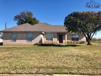 Burkburnett Single Family Home For Sale: 1219 Lisa Lane