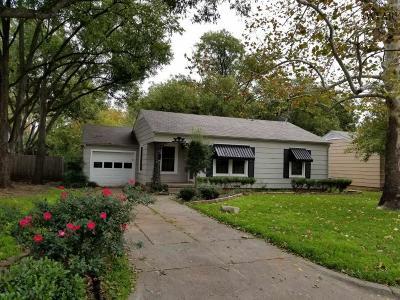 Wichita Falls Single Family Home For Sale: 3411 Barrett Place