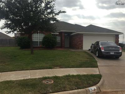 Wichita County Single Family Home Active W/Option Contract: 7 Libby Court