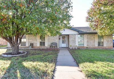 Wichita Falls Single Family Home Active W/Option Contract: 18 Anita Lane