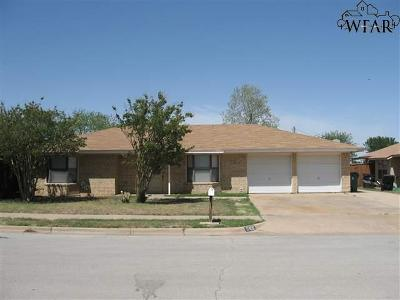 Wichita Falls Single Family Home For Sale: 5408 Page Drive