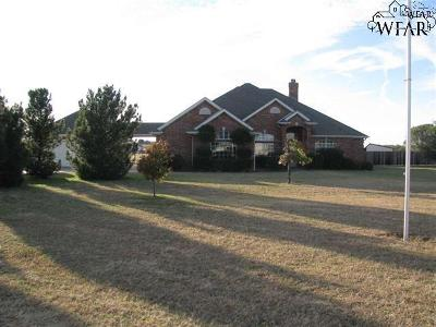 Wichita Falls Single Family Home For Sale: 5178 Turkey Ranch Road
