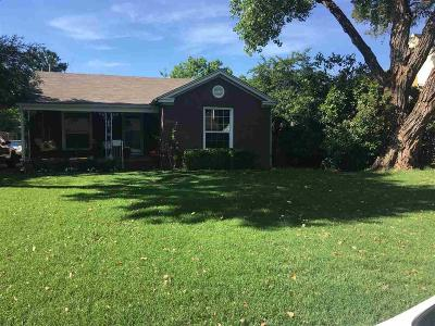 Wichita Falls Single Family Home For Sale: 1662 Victory Avenue