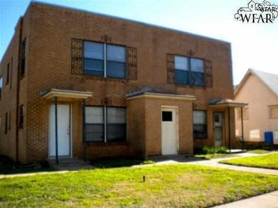 Wichita Falls Multi Family Home For Sale: 1501 Kemp Boulevard