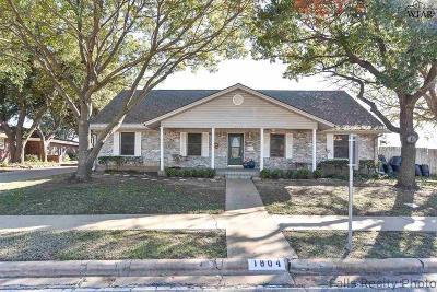 Wichita Falls Single Family Home For Sale: 1804 Tanglewood Drive
