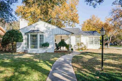 Wichita Falls Single Family Home For Sale: 2400 Cambridge Avenue