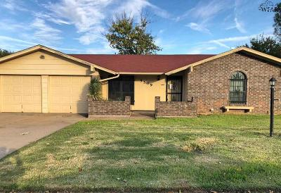 Wichita Falls Single Family Home For Sale: 5509 Hooper Drive