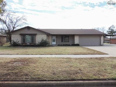 Wichita Falls Single Family Home For Sale: 6705 Kit Carson Trail