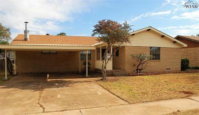 Wichita Falls Single Family Home For Sale: 4645 Brookdale Drive