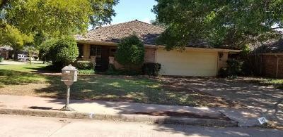 Wichita Falls Single Family Home For Sale: 2407 Marika Circle