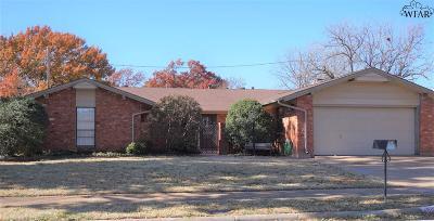Wichita Falls Single Family Home For Sale: 4805 Big Bend Drive