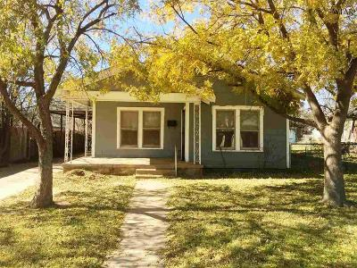 Wichita Falls Single Family Home For Sale: 2104 Jones Street
