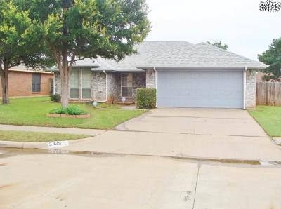 Wichita Falls Single Family Home For Sale: 5329 Long Leaf Drive
