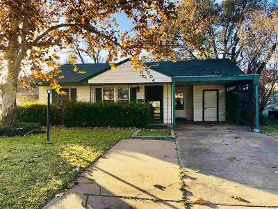 Wichita Falls Single Family Home For Sale: 2804 McGaha Avenue