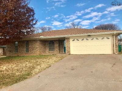 Burkburnett Single Family Home For Sale: 987 Victoria Drive