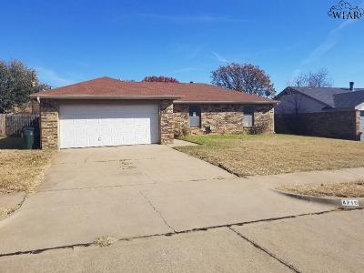 Wichita Falls TX Single Family Home For Sale: $50,500