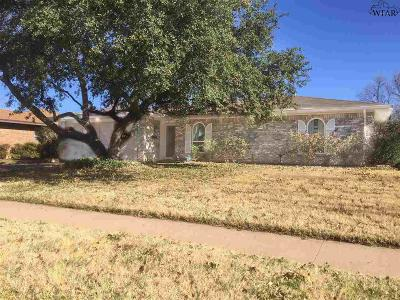 Wichita Falls Single Family Home For Sale: 4709 Cypress Avenue
