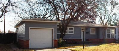 Wichita Falls Single Family Home For Sale: 4731 Alamo Drive