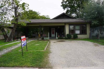 Wichita Falls Multi Family Home Active W/Option Contract: 1617 Collins Avenue