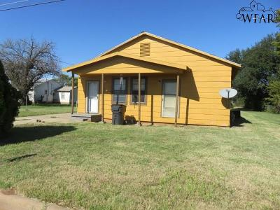 Wichita Falls Single Family Home For Sale: 704 Jalonic Street