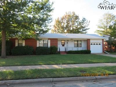 Wichita Falls Single Family Home For Sale: 5040 Lindale Drive