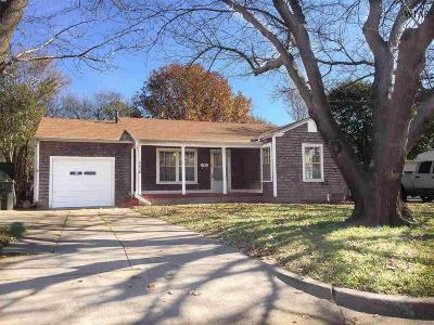 Wichita Falls Single Family Home Active W/Option Contract: 3415 Barrett Place