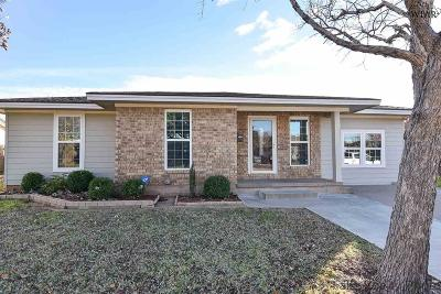 Wichita Falls TX Single Family Home Active W/Option Contract: $87,900