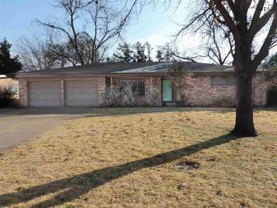 Wichita Falls Single Family Home For Sale: 4717 Florist Street