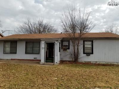 Wichita Falls Single Family Home For Sale: 2233 Gilbert Avenue