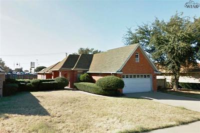 Wichita Falls Single Family Home For Sale: 3402 Nottinghill Lane