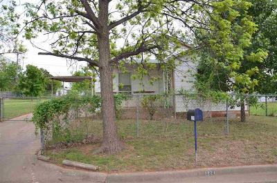 Wichita Falls Single Family Home Active W/Option Contract: 1221 33rd Street