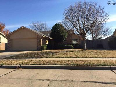 Wichita Falls Single Family Home For Sale: 5503 Rhone Drive